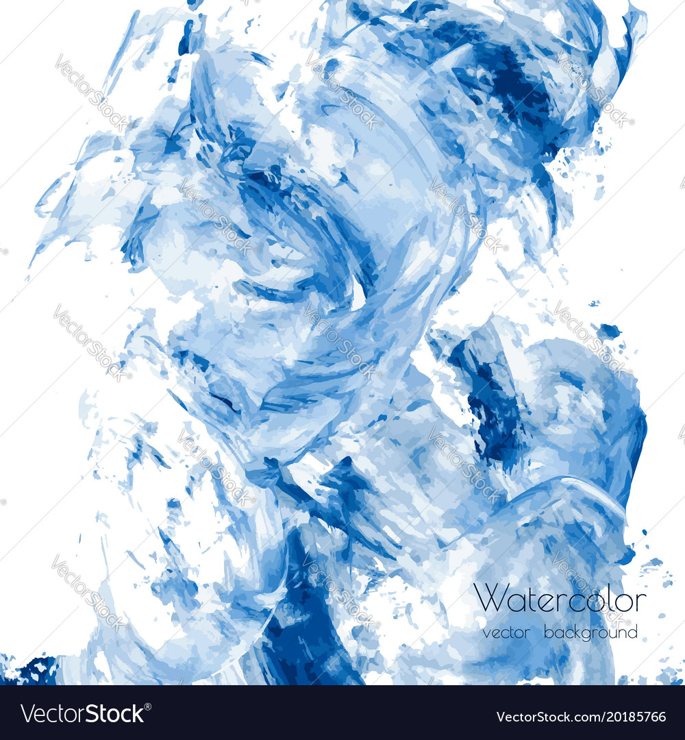 a3fb211b5 White gray navy blue marble watercolor texture Vector Image