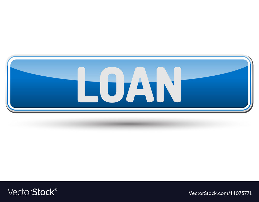 Loan - abstract beautiful button with text