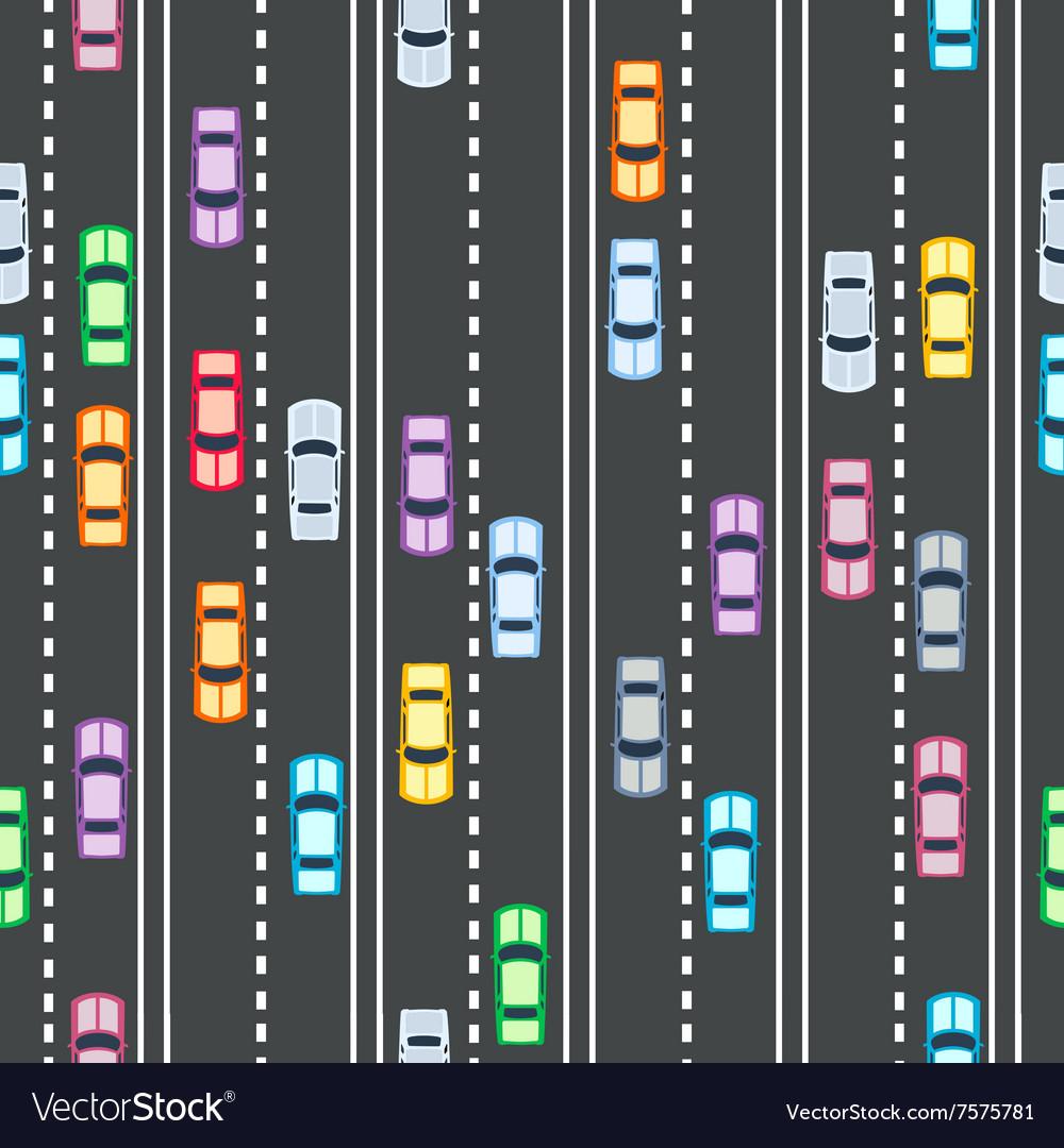 Cars seamless pattern