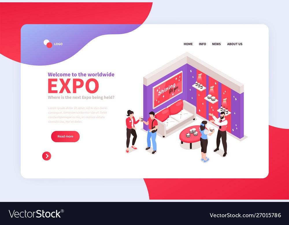 Exhibition booth website design