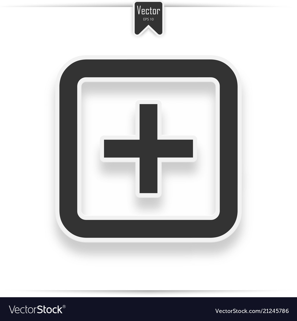 Hospital icon on the white background
