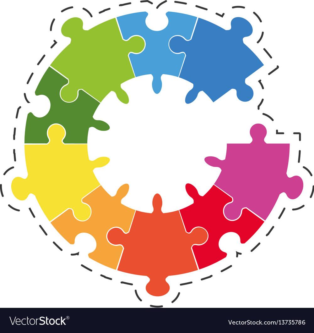 Puzzle solution diagram image