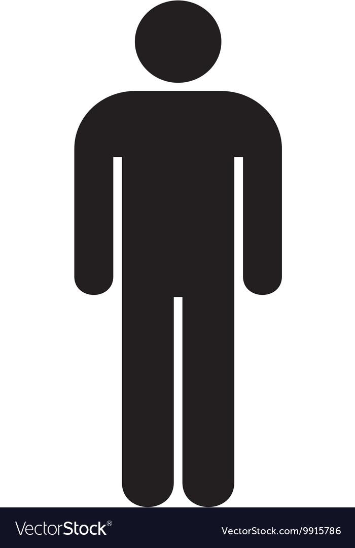 toilets men symbol royalty free vector image - vectorstock  vectorstock