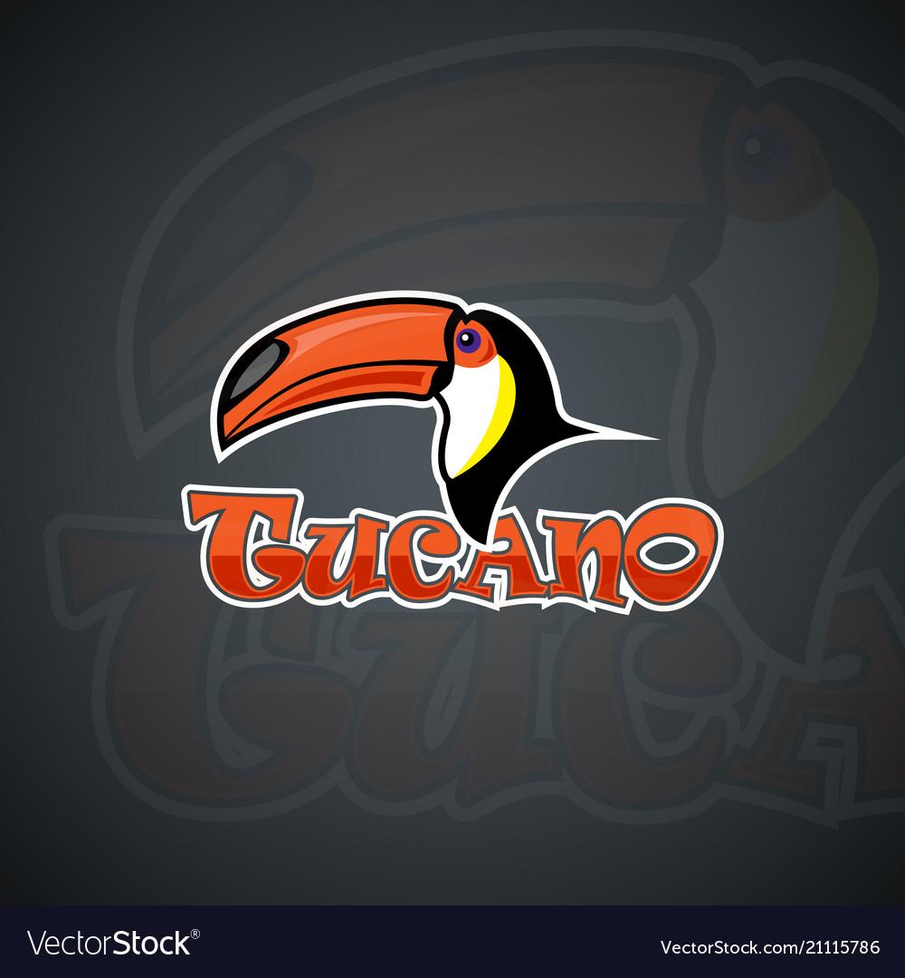 Toucan set template graphics