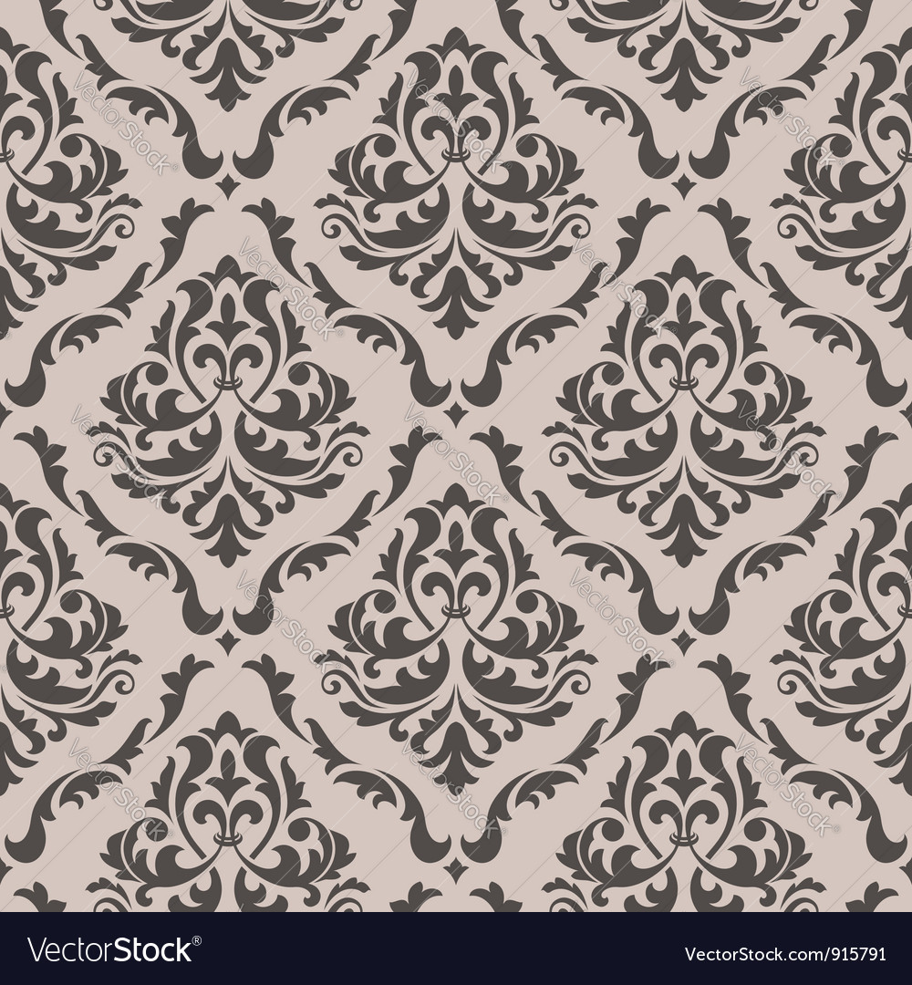 seamless floral pattern royalty free vector image