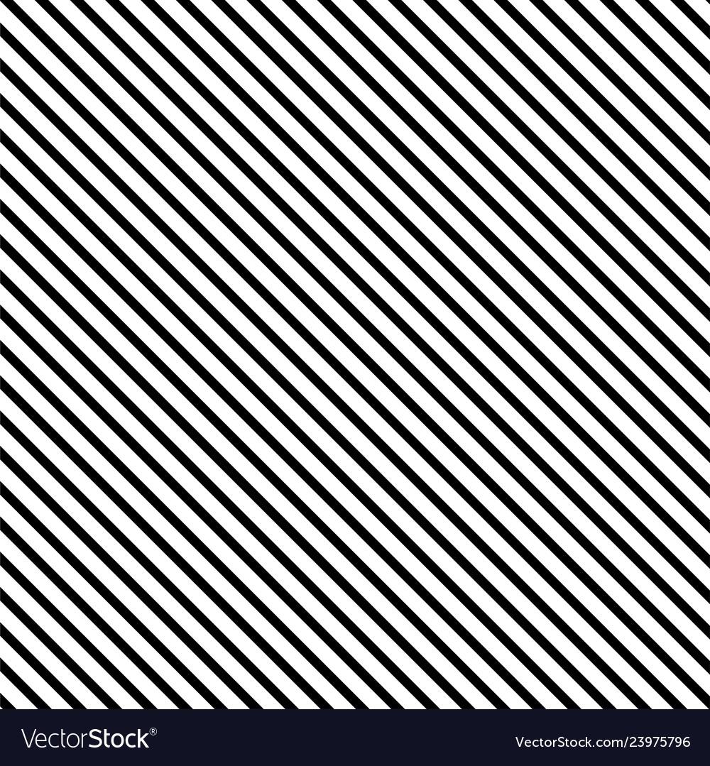 Striped seamless pattern with diagonal line black