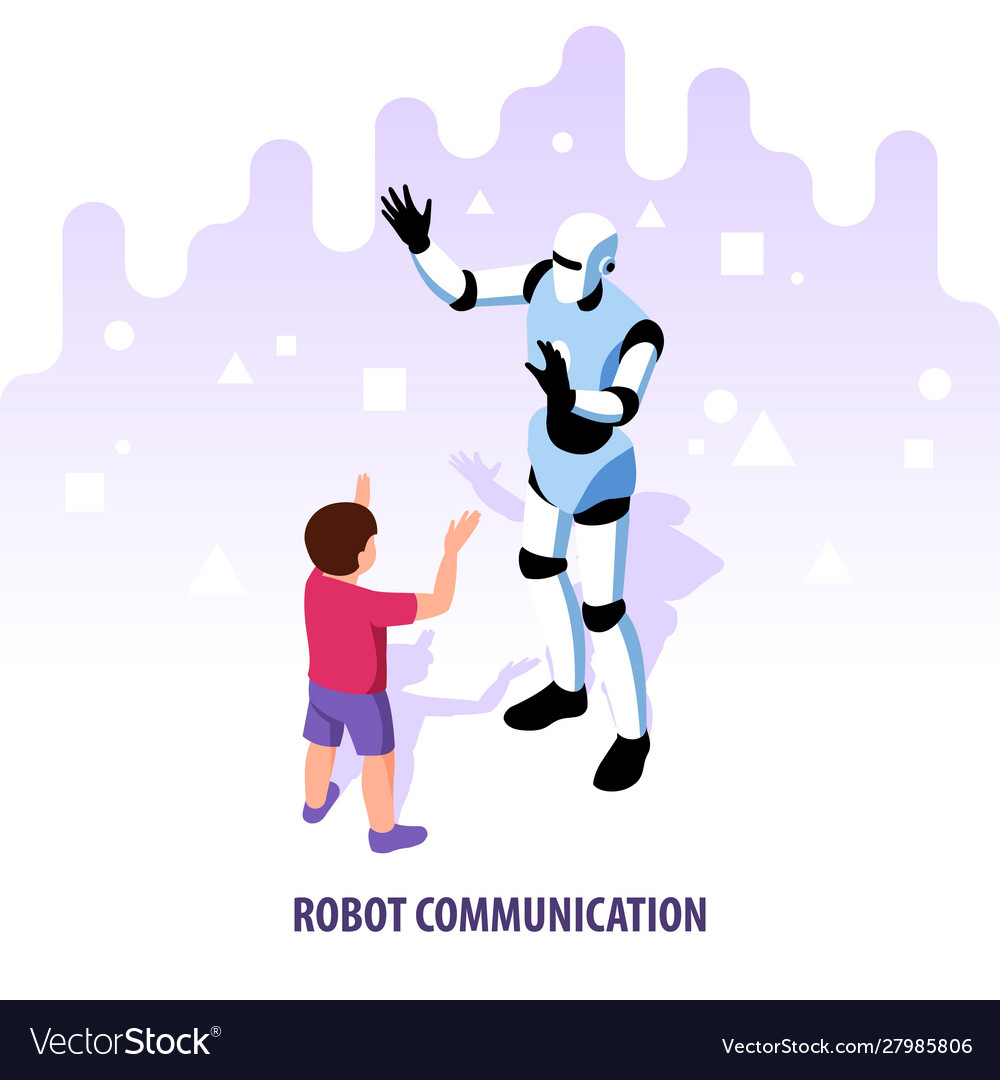Isometric robot communication composition