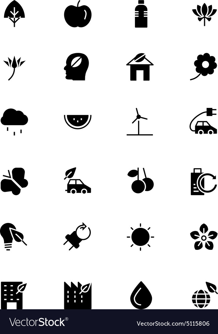 Nature and Ecology Icons 1