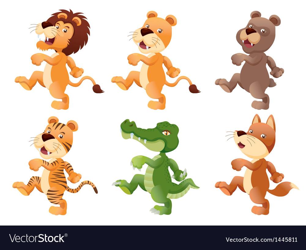 Animal walking set