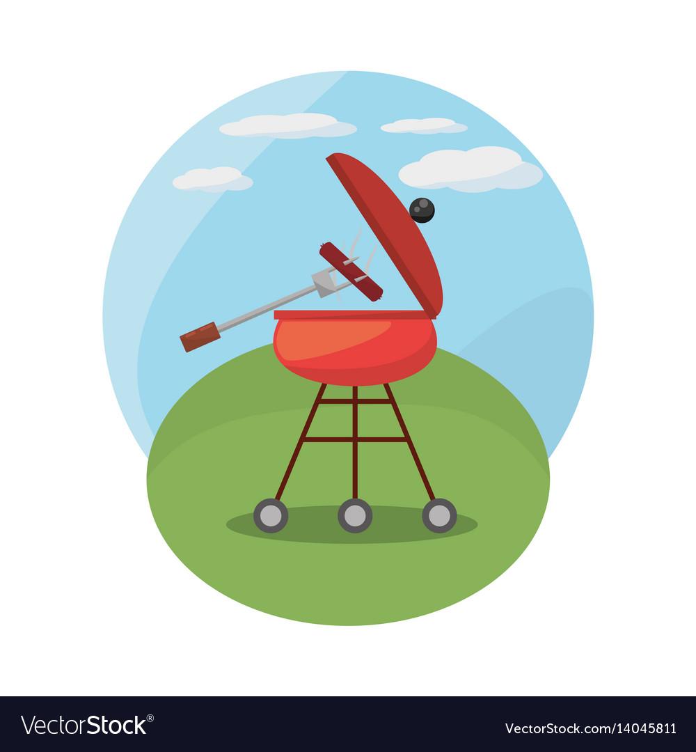 Grill barbecue picnic landscape