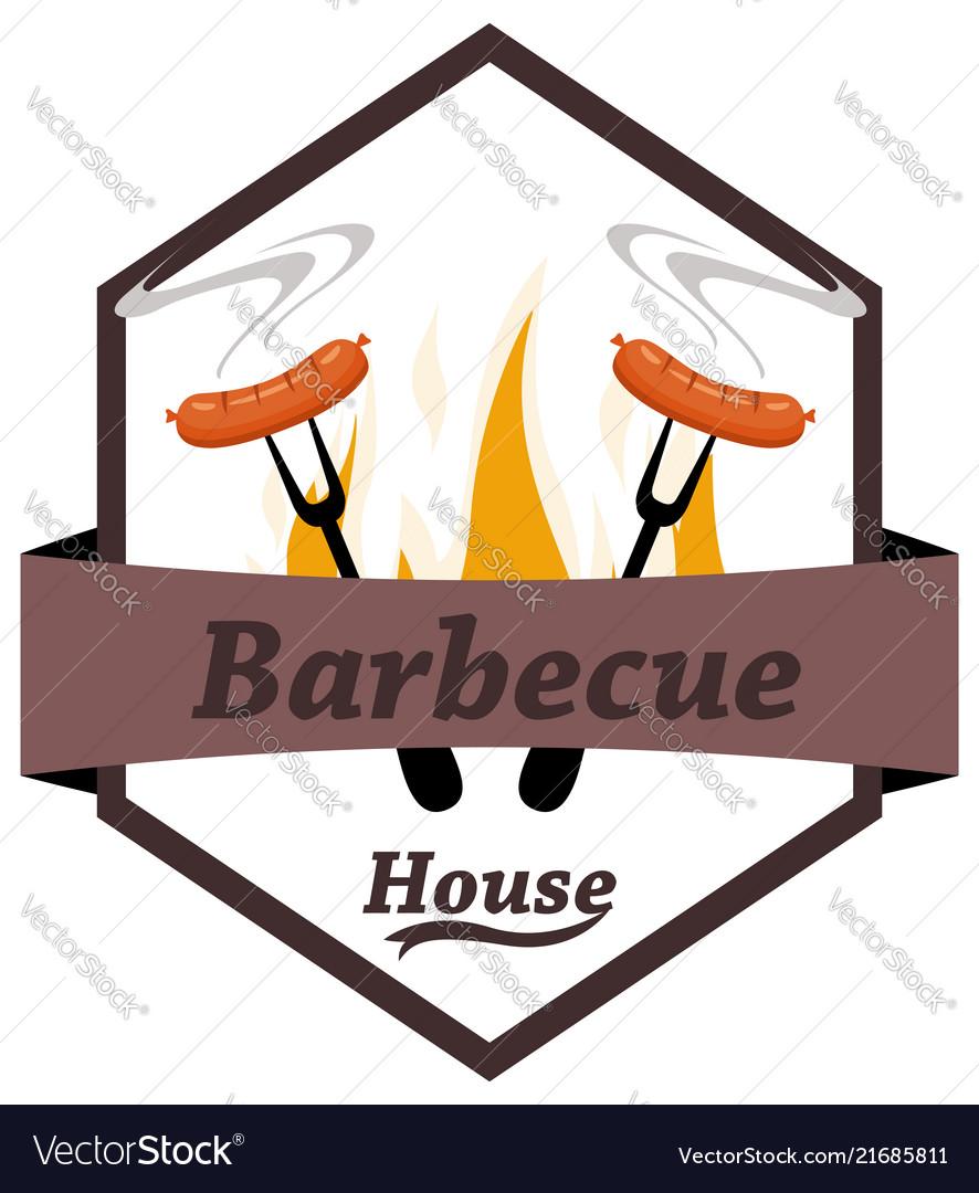 Logo grilled food