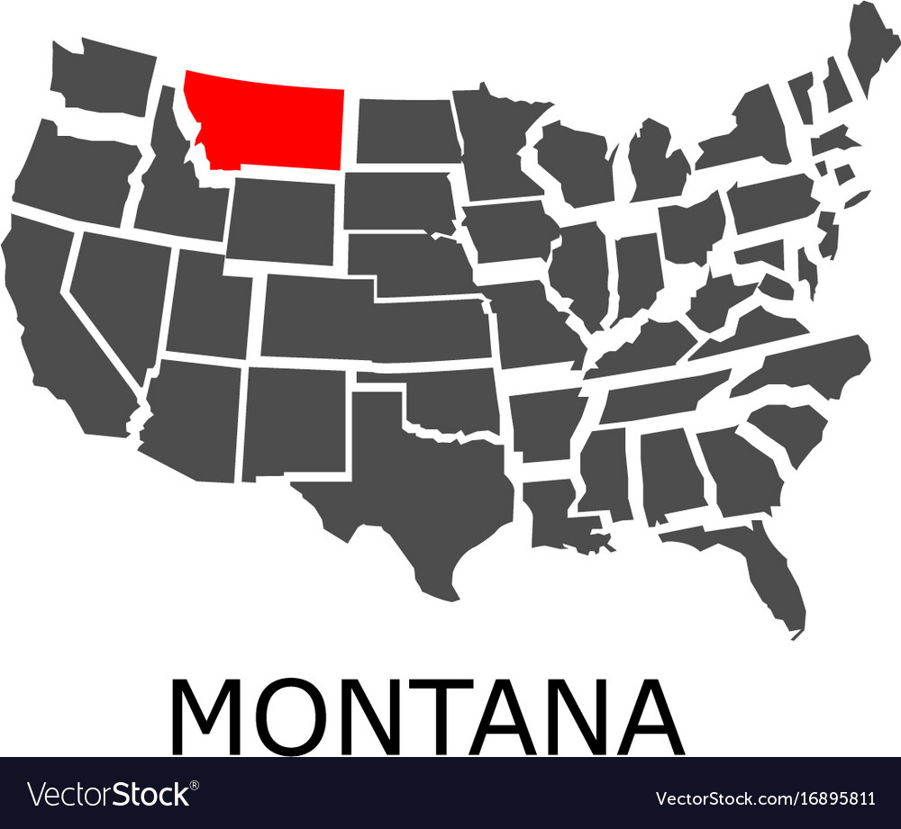 State of montana on map of usa on snowflake in montana, home in montana, dinosaurs in montana, animals in montana, usa map in miami, butterflies in montana, turkey in montana, tent in montana, usa map from montana,