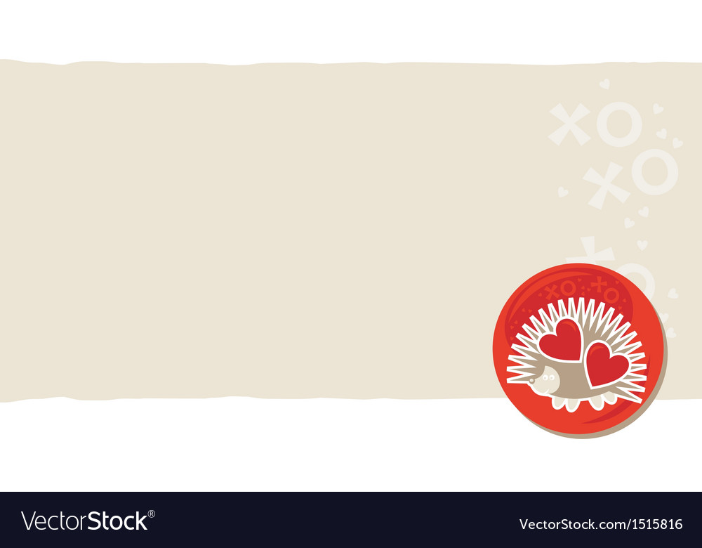 Cute Valentine Cards Royalty Free Vector Image