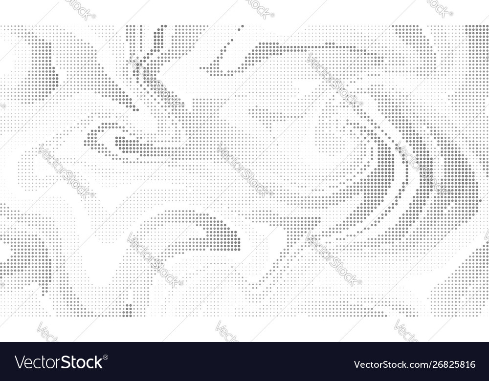 Halftone effect liquid background