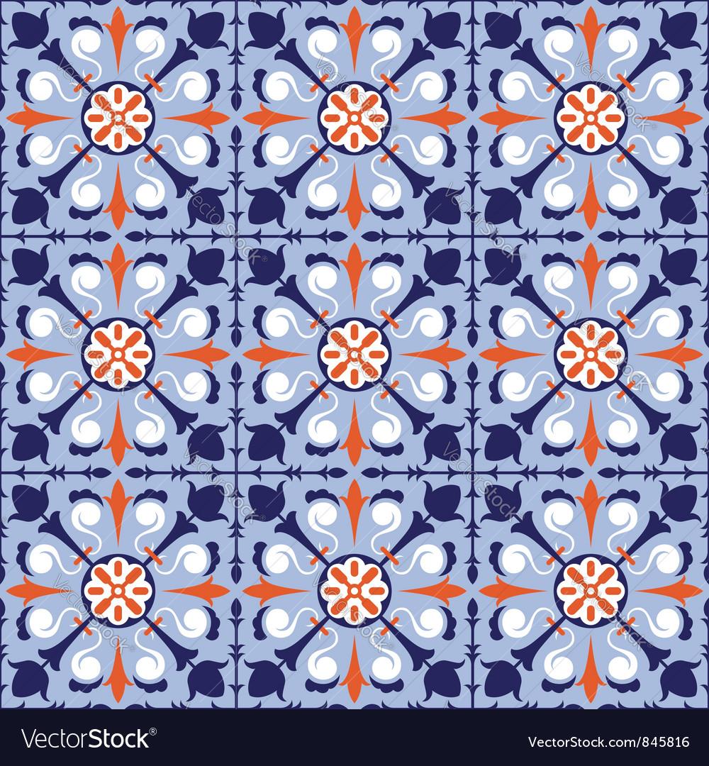 Arabic Tiles Royalty Free Vector Image