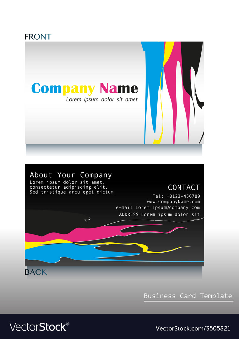 A calling card artwork royalty free vector image a calling card artwork vector image reheart Image collections