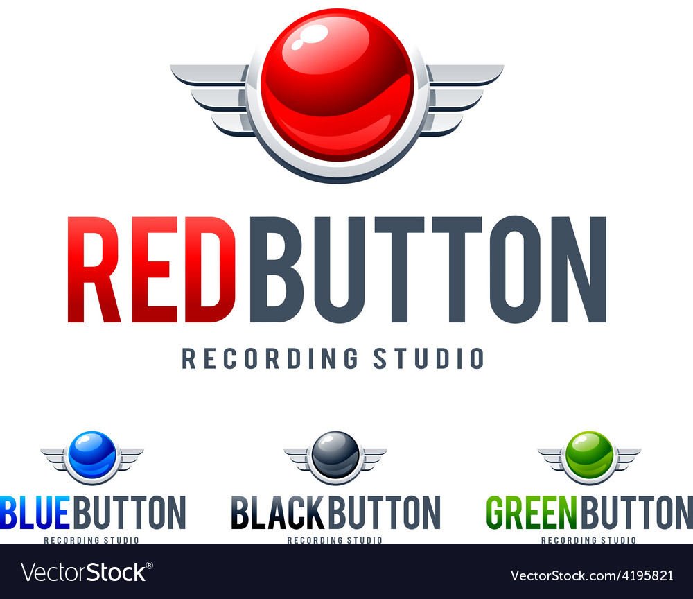 Red button logo