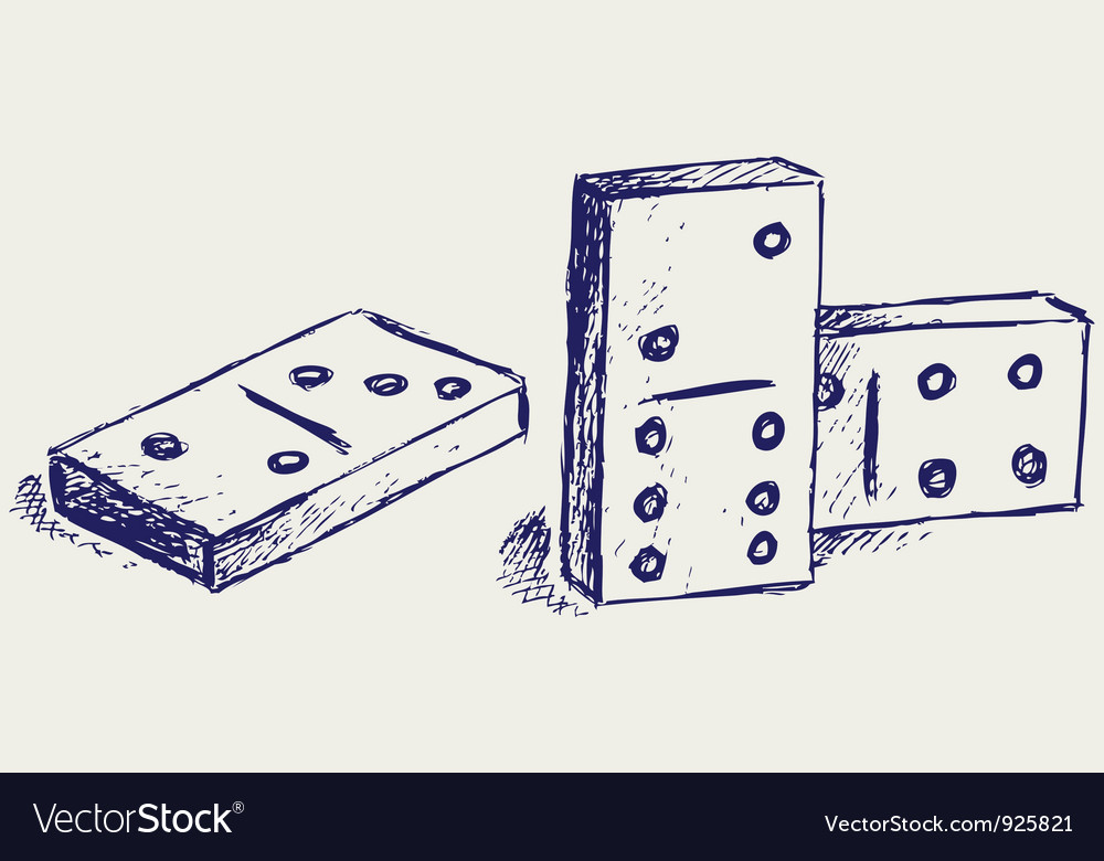 Sketch dominoes