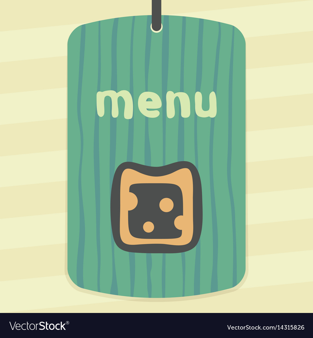 Cheese sandwich icon modern infographic logo