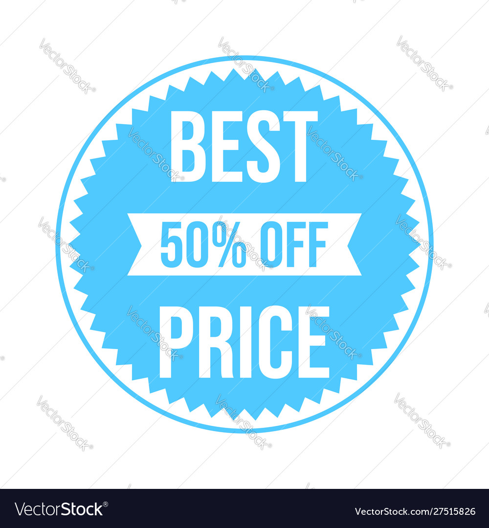 Sale best price banner template design