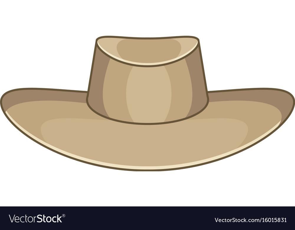 Akubra icon cartoon style