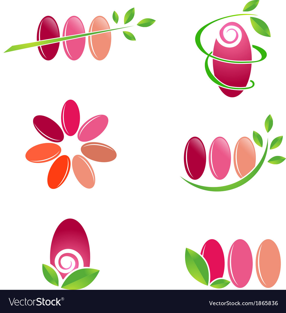 Nail Spa Design vector image