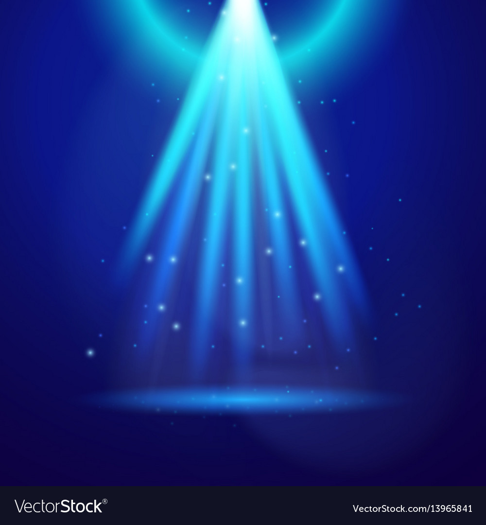 Blue shine light