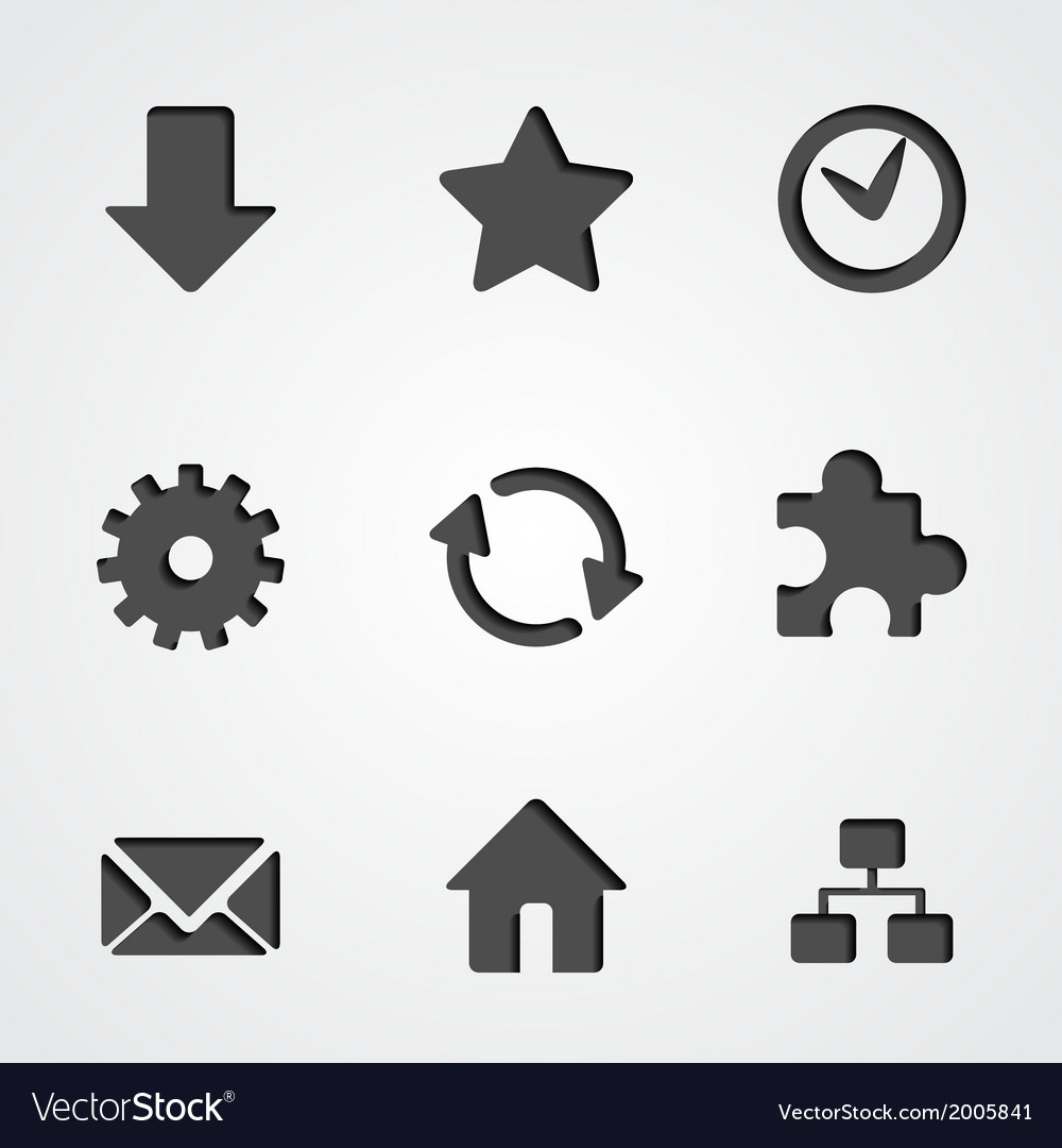 Internet icon collection