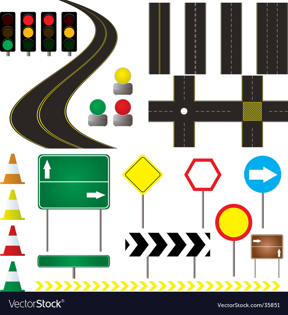 Automotive vector image