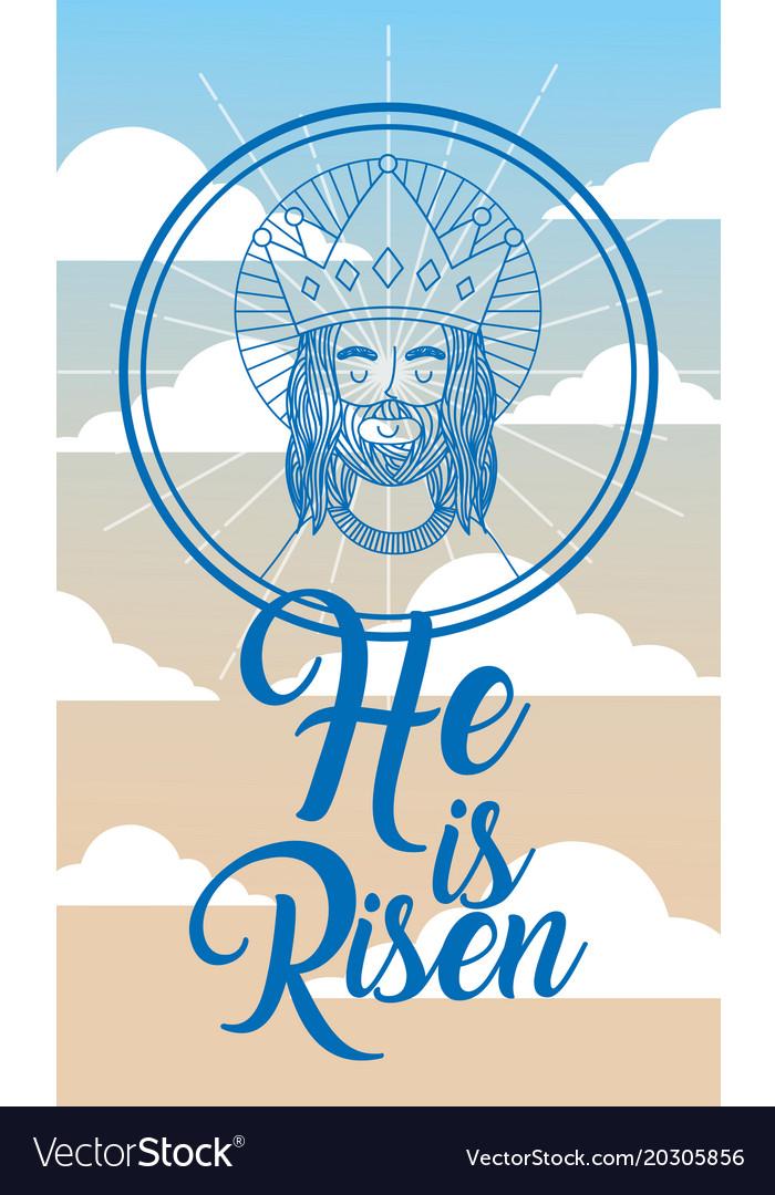 Jesus catholicism religion card