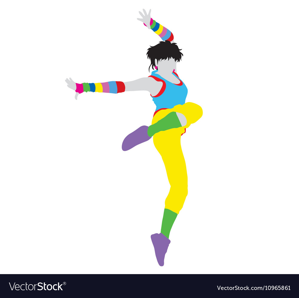 Happy Dancer Silhouette