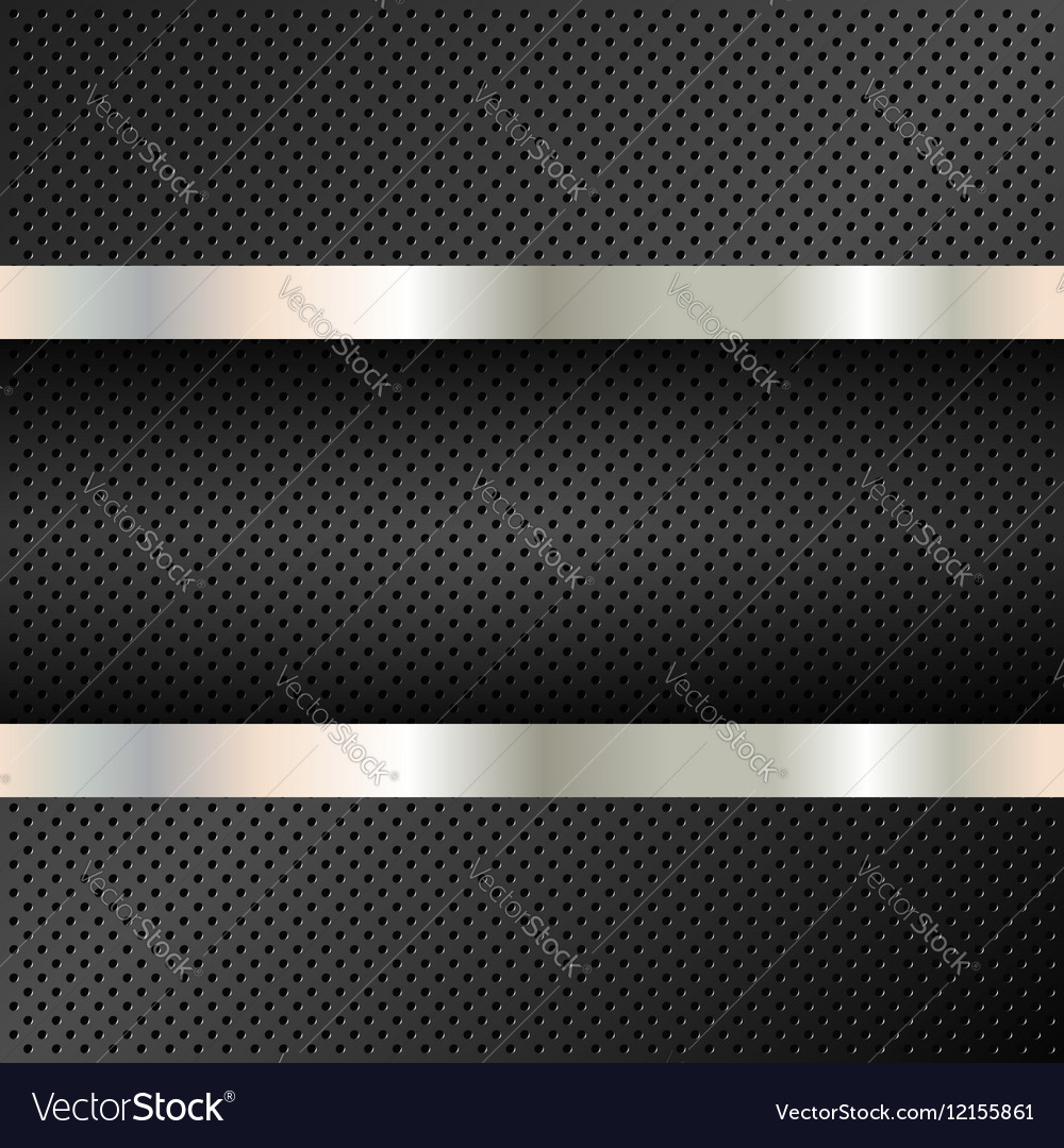 Technology background perforated circles