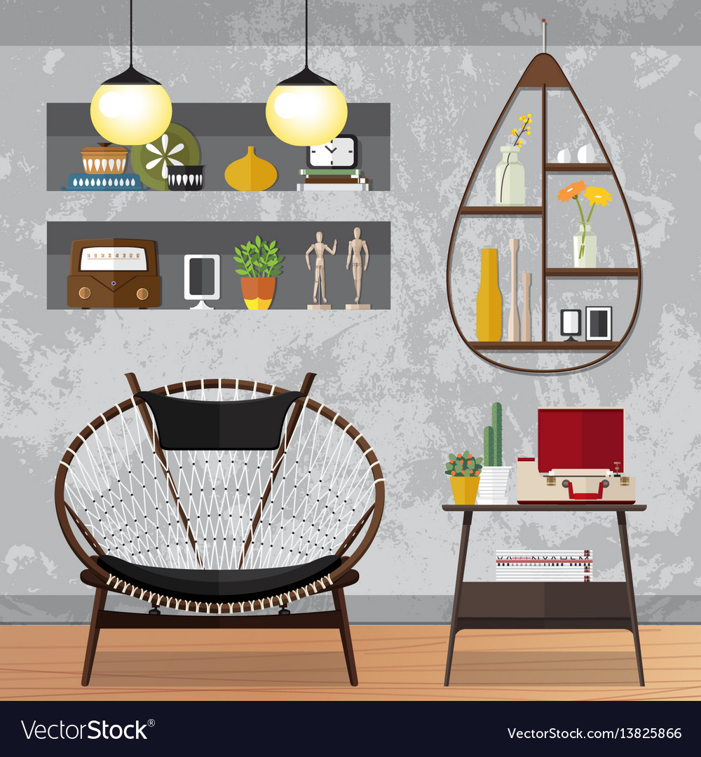 Decorated small living room