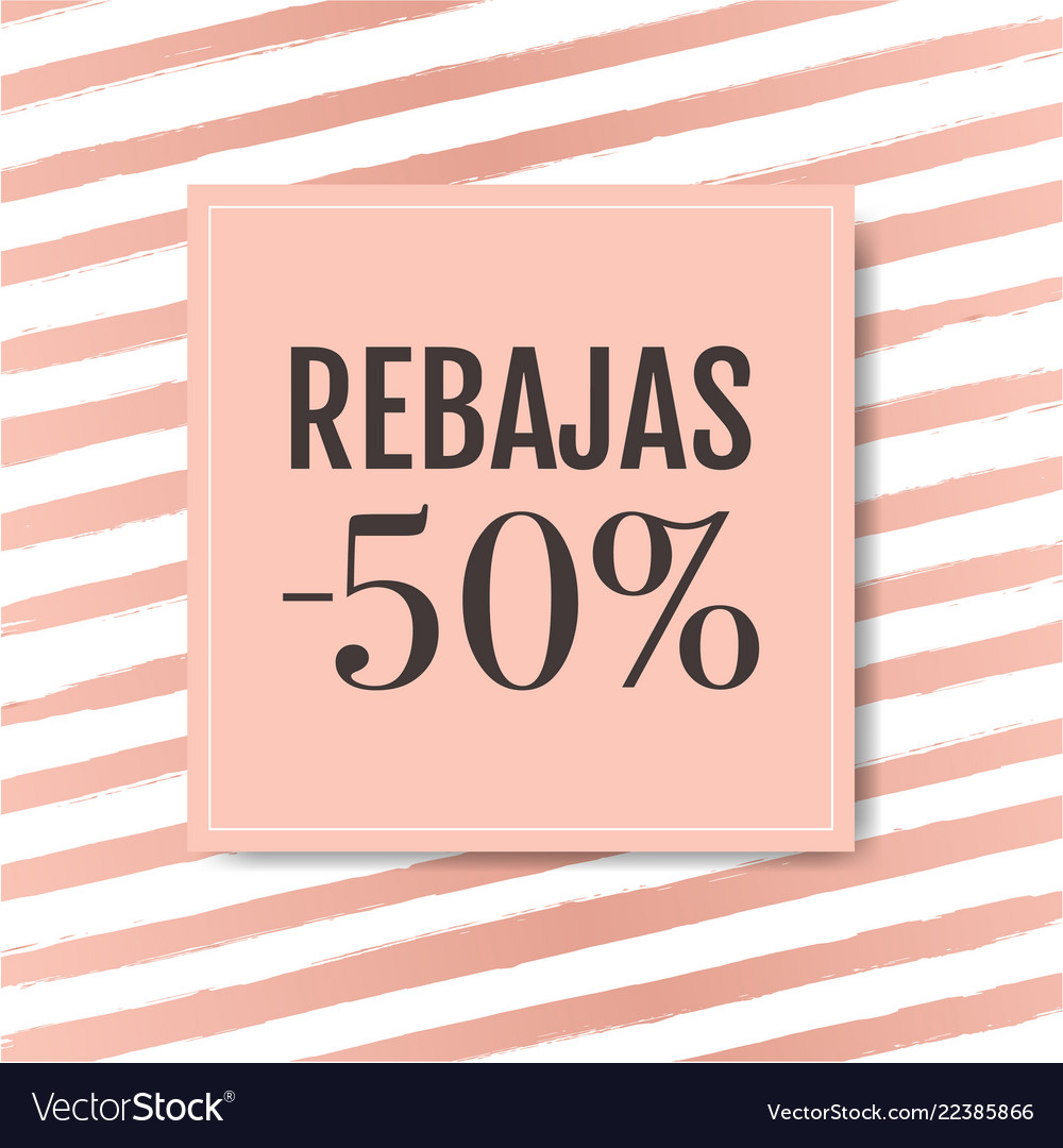 Sale banner with pink background with watercolor