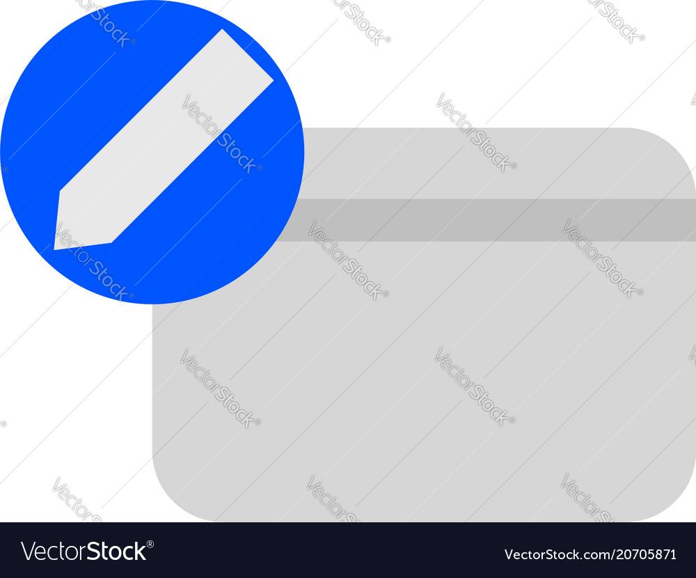 Edit credit card icon