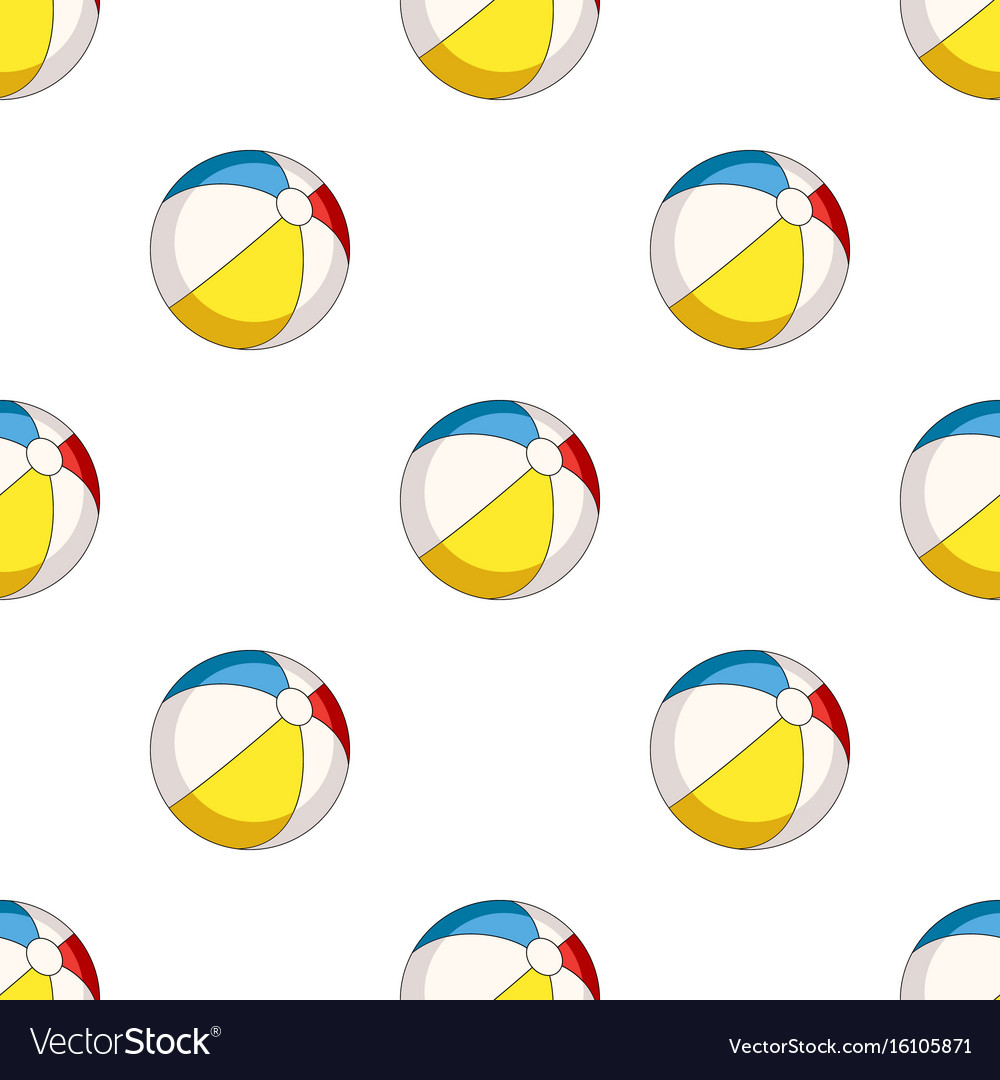 Inable multicolored ballsummer rest single icon vector image