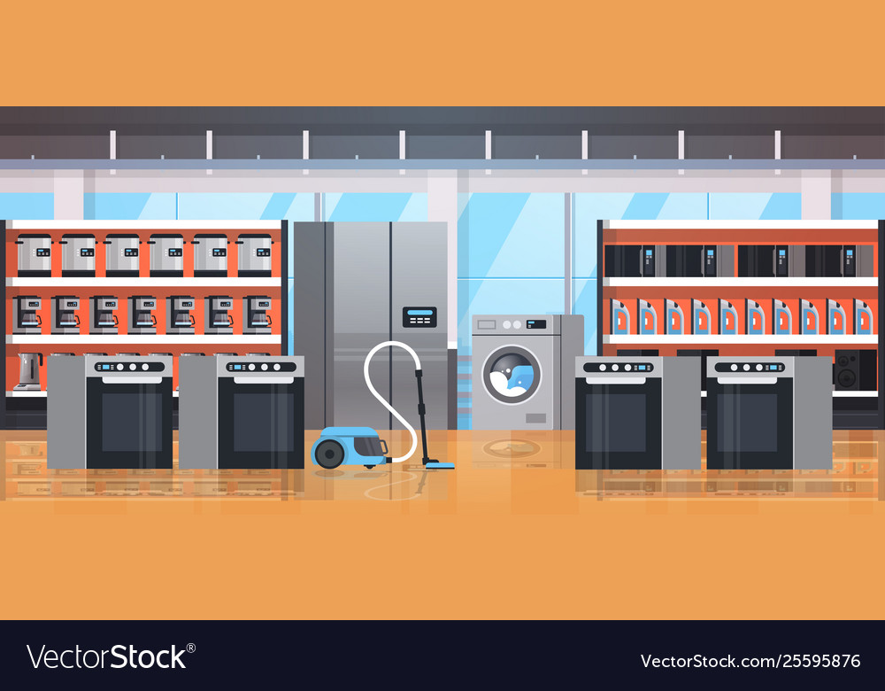 Different home appliances electric house equipment