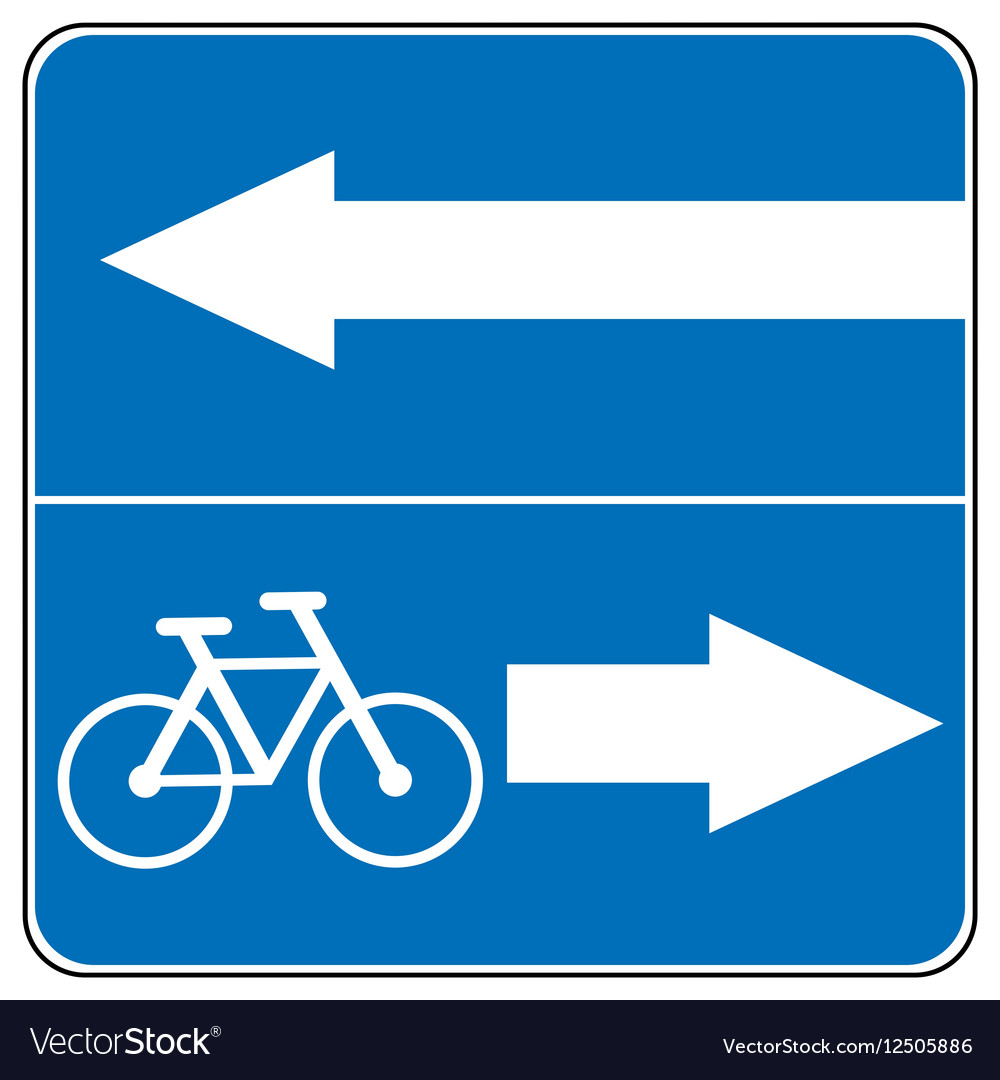 Ahead Only one way traffic sign Drive Straight