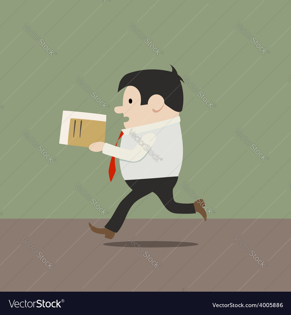 Manager in a hurry