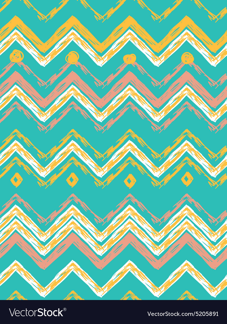 Abstract hand-drawn ethnic pattern tribal backgrou