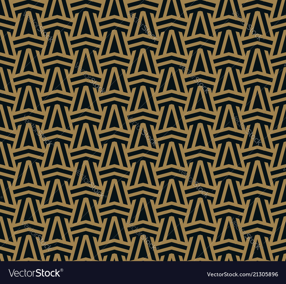 Abstract seamless ornament lines pattern