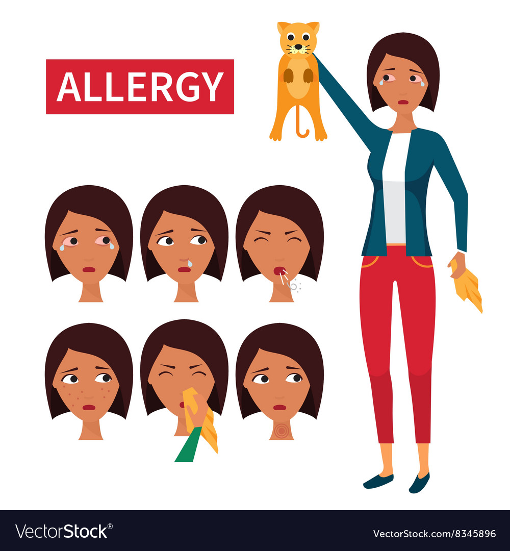Allergy symptoms information