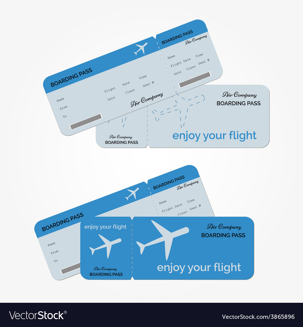 Variant of air ticket