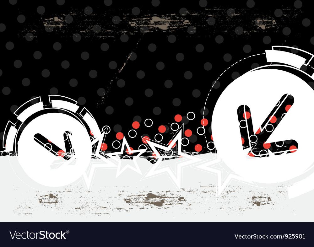 Abstract grunge artwork
