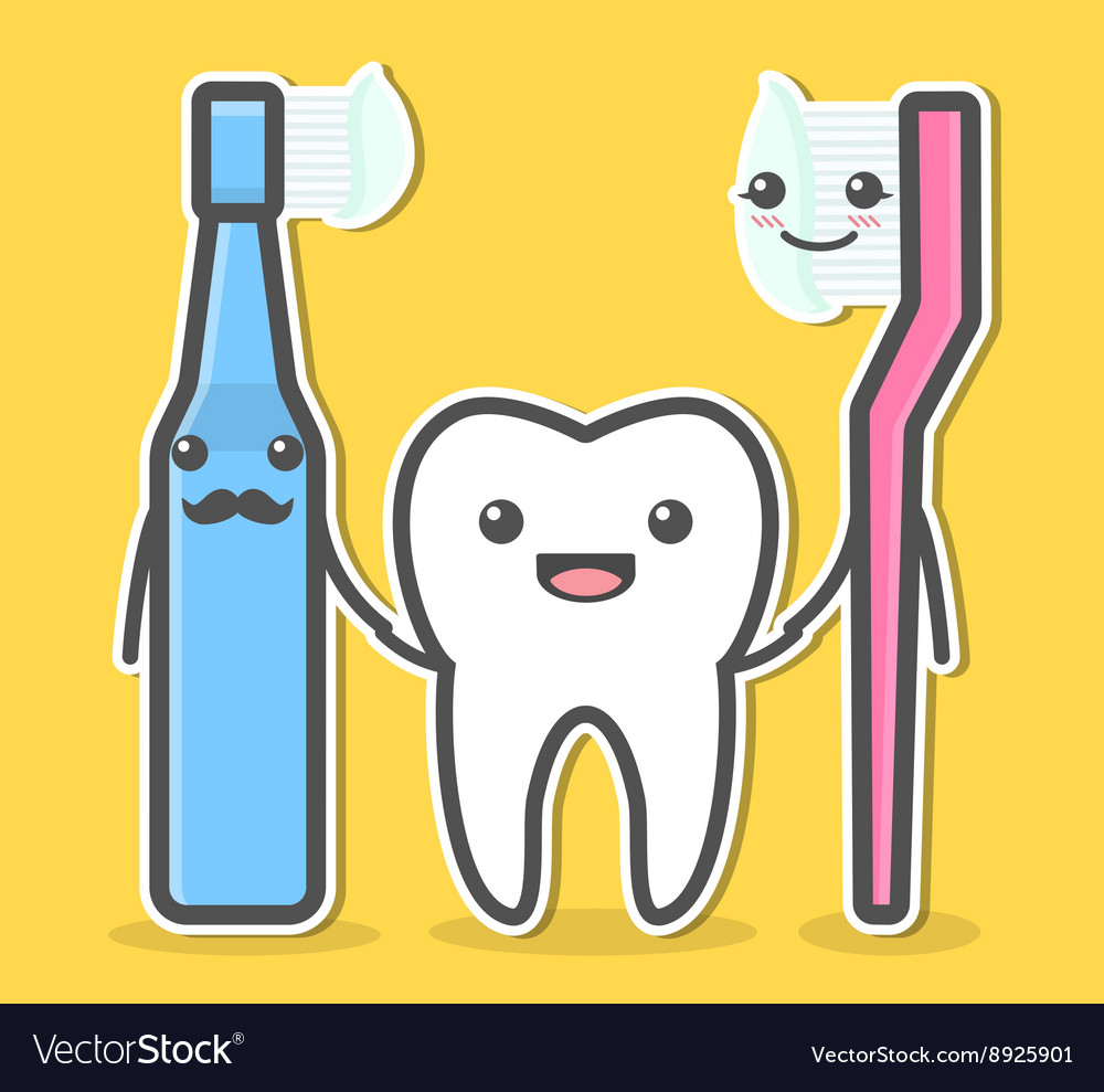 Tooth and toothbrushes