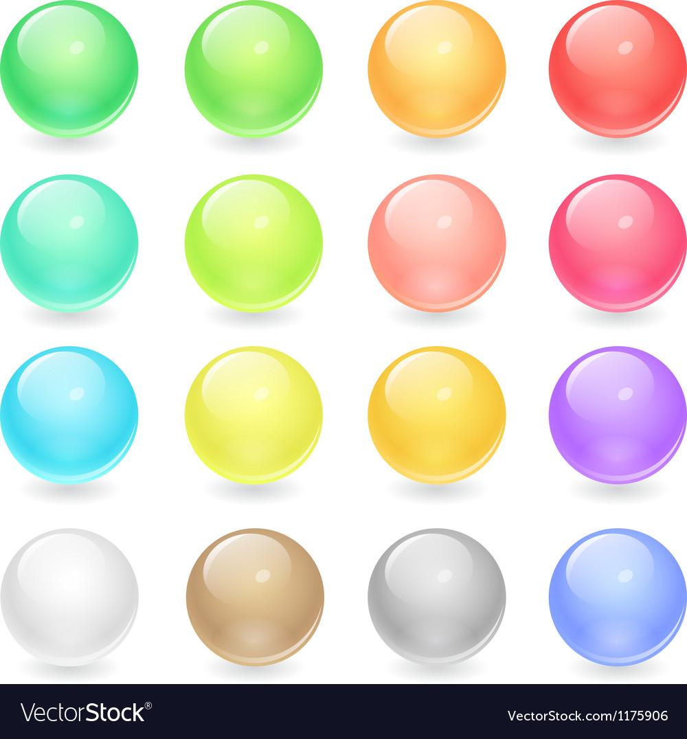 Circle Web Buttons