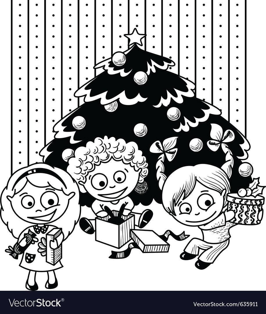 Children sketch