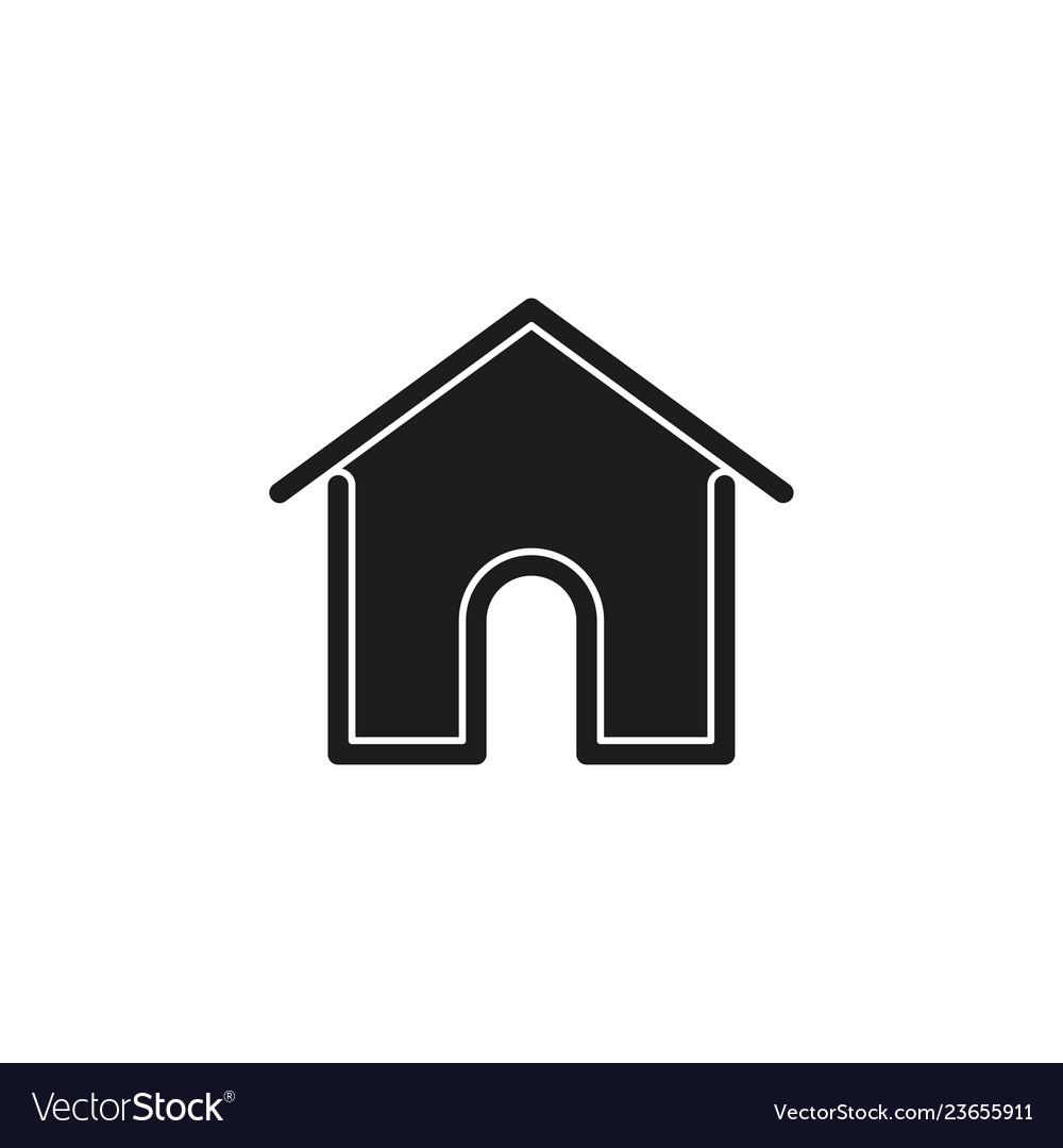Simple home icon