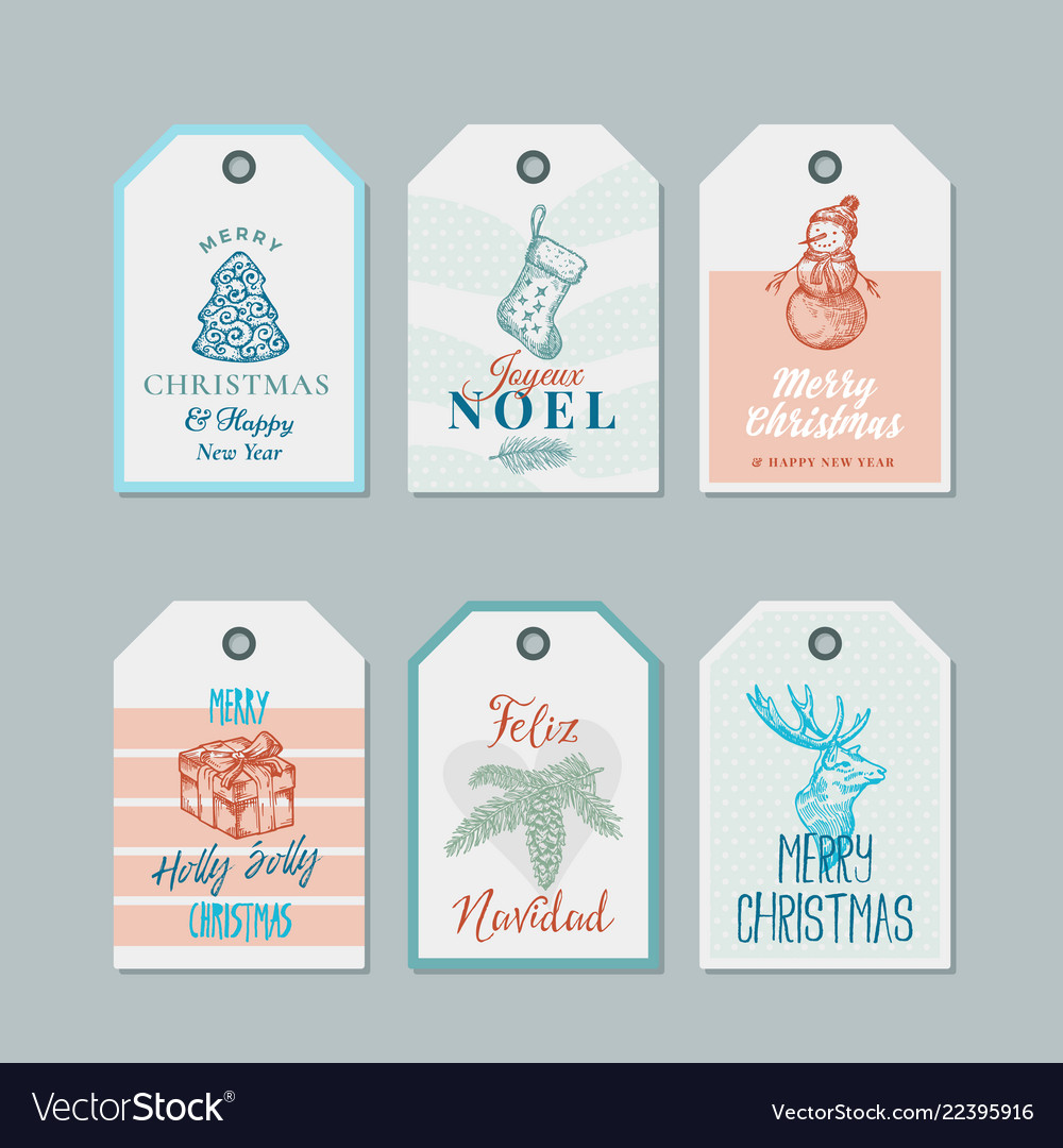 Christmas and new year ready-to-use pastel colour