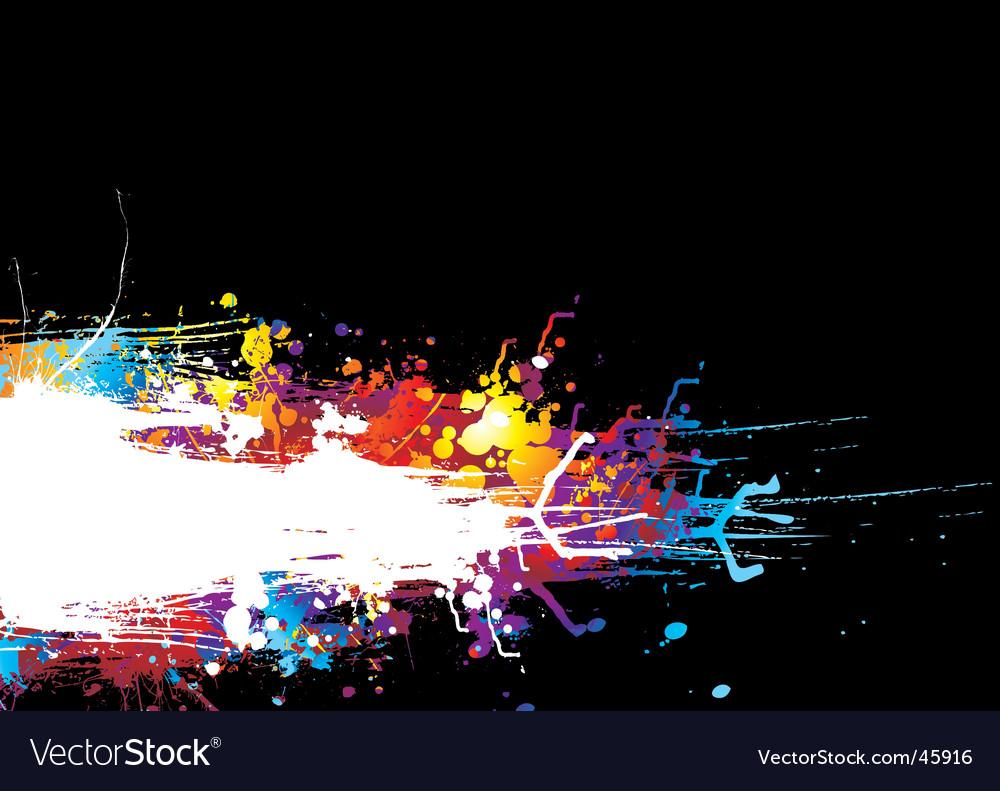 Rainbow drag band vector image